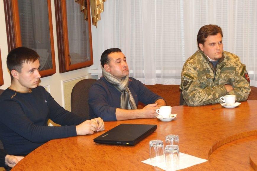 Швейцарцы встретились с сумскими бойцами АТО (ФОТО), фото-2