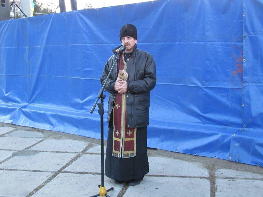 В Мариуполе на площади павшего Ленина зажгли герб Украины (ФОТОРЕПОРТАЖ+ВИДЕО), фото-22