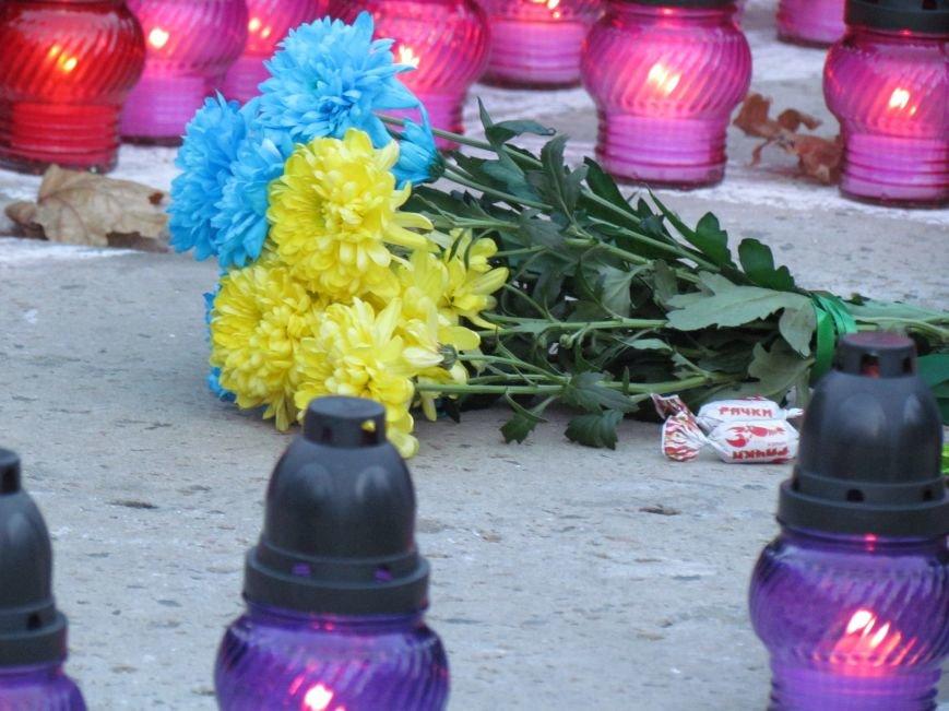 В Мариуполе на площади павшего Ленина зажгли герб Украины (ФОТОРЕПОРТАЖ+ВИДЕО), фото-18