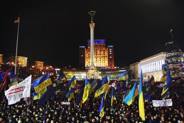 В Кривом Роге: простились с погибшим в зоне АТО Валерием Бердаковым, отметили годовщину Евромайдана и назначили нового прокурор города, фото-2