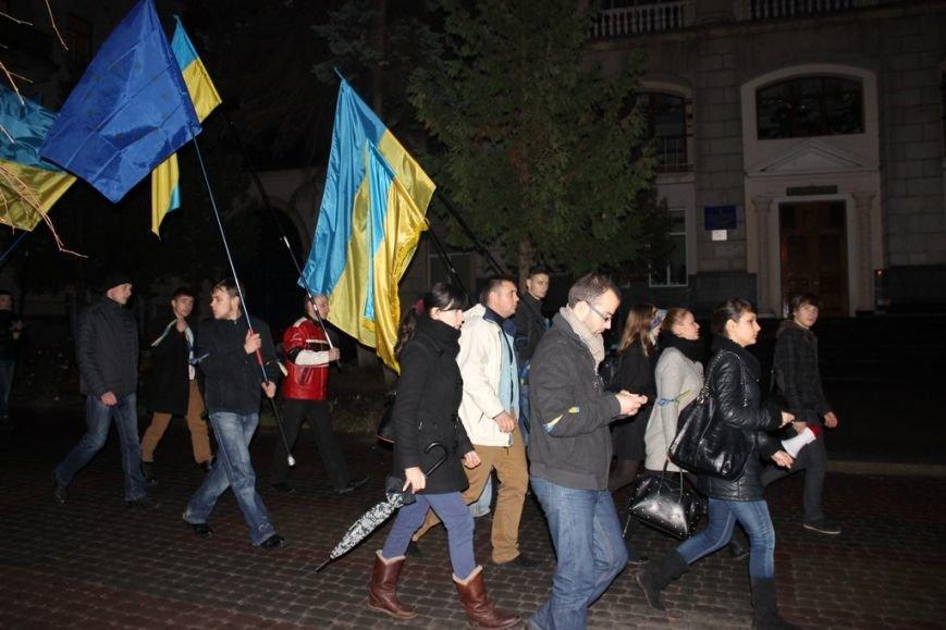 Тернопільська молодь провела свій Євромайдан (фото), фото-5