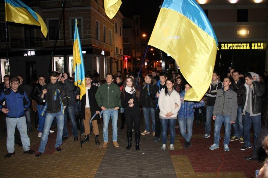 Тернопільська молодь провела свій Євромайдан (фото), фото-4