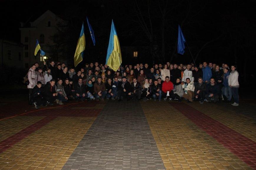 Тернопільська молодь провела свій Євромайдан (фото), фото-1