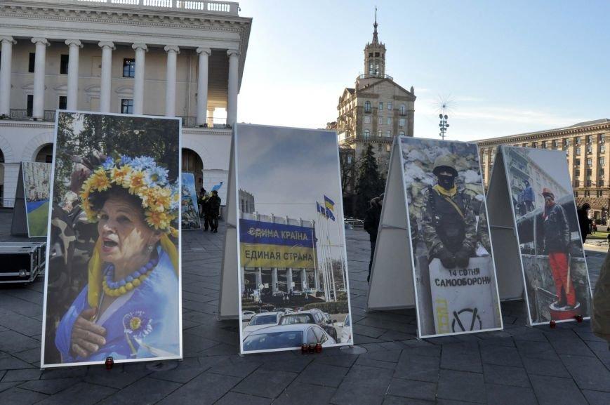ФОТОФАКТ: Изображение запорожской активистки разместили в центре киевского Майдана, фото-1