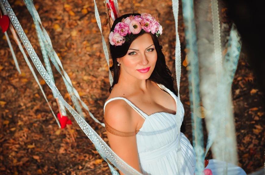 На мастер-классе «В ожидании чуда» одна из беременных участниц выиграла сертификат на визаж от студии ProObraz, фото-6