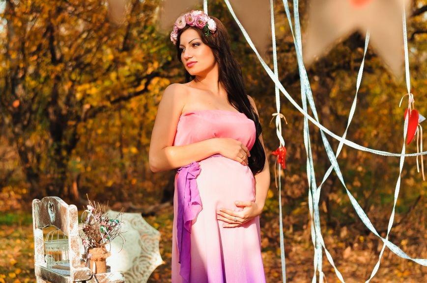 На мастер-классе «В ожидании чуда» одна из беременных участниц выиграла сертификат на визаж от студии ProObraz, фото-11