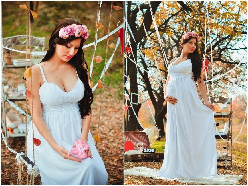 На мастер-классе «В ожидании чуда» одна из беременных участниц выиграла сертификат на визаж от студии ProObraz, фото-3