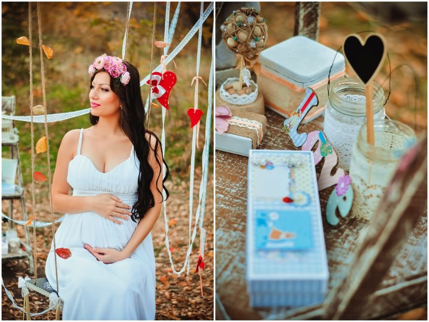 На мастер-классе «В ожидании чуда» одна из беременных участниц выиграла сертификат на визаж от студии ProObraz, фото-1