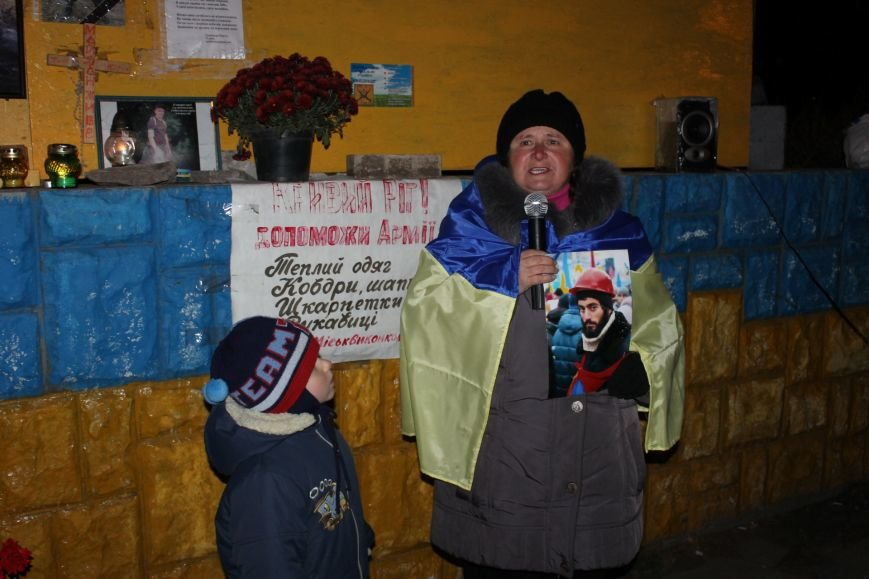 В Кривом Роге активисты собрались на Евромайдан (ФОТО), фото-5