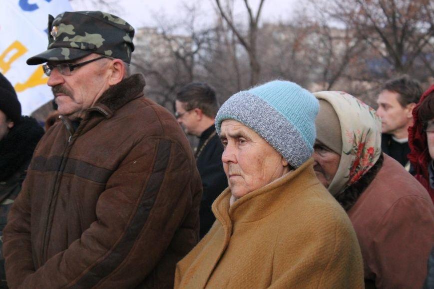 В Кривом Роге националисты почтили память жертв Голодоморов и политических репрессий без представителей городской власти (ФОТО), фото-8