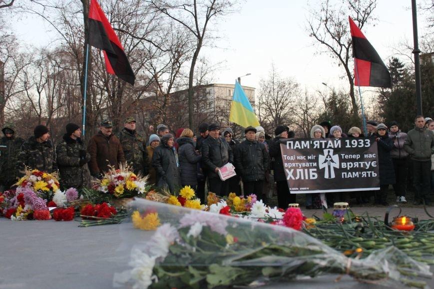 В Кривом Роге националисты почтили память жертв Голодоморов и политических репрессий без представителей городской власти (ФОТО), фото-1