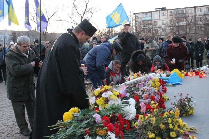 В Кривом Роге националисты почтили память жертв Голодоморов и политических репрессий без представителей городской власти (ФОТО), фото-5