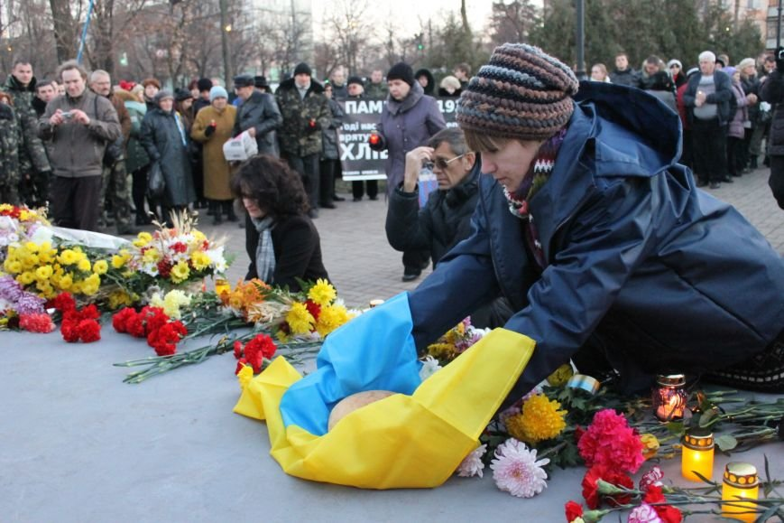 В Кривом Роге националисты почтили память жертв Голодоморов и политических репрессий без представителей городской власти (ФОТО), фото-3