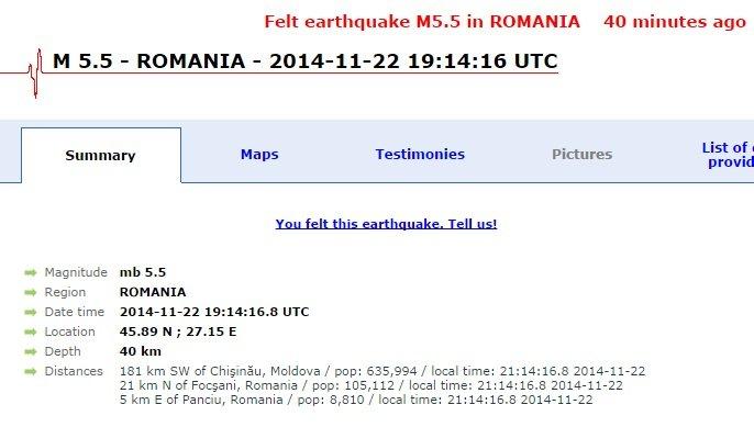 В Херсоне - «отголосок» румынского землетрясения, фото-1