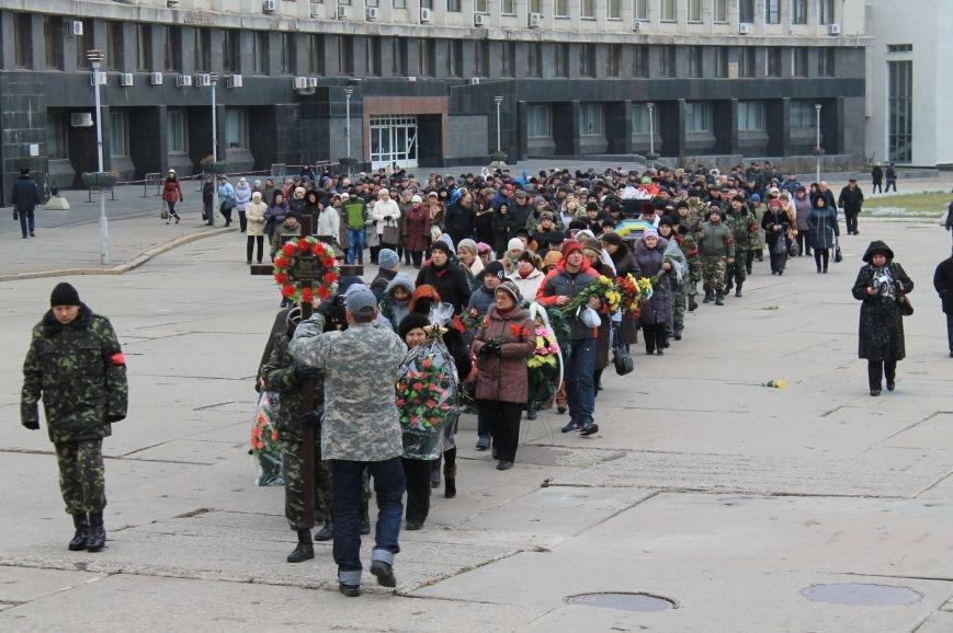 Сумчане попрощались с воином АТО Юрием Ветровым, который погиб в блиндаже (ФОТО), фото-13