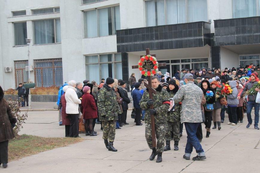 Сумчане попрощались с воином АТО Юрием Ветровым, который погиб в блиндаже (ФОТО), фото-11