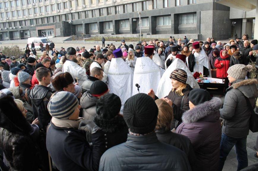 Сумчане попрощались с воином АТО Юрием Ветровым, который погиб в блиндаже (ФОТО), фото-8
