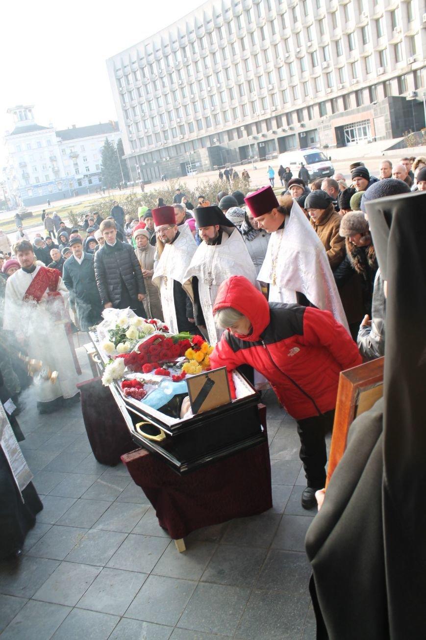 Сумчане попрощались с воином АТО Юрием Ветровым, который погиб в блиндаже (ФОТО), фото-4