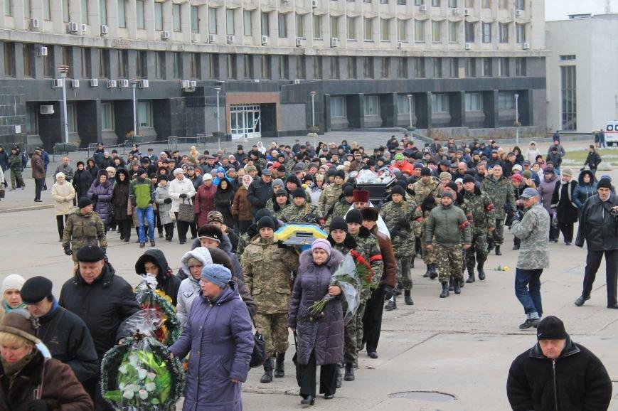 Сумчане попрощались с воином АТО Юрием Ветровым, который погиб в блиндаже (ФОТО), фото-14