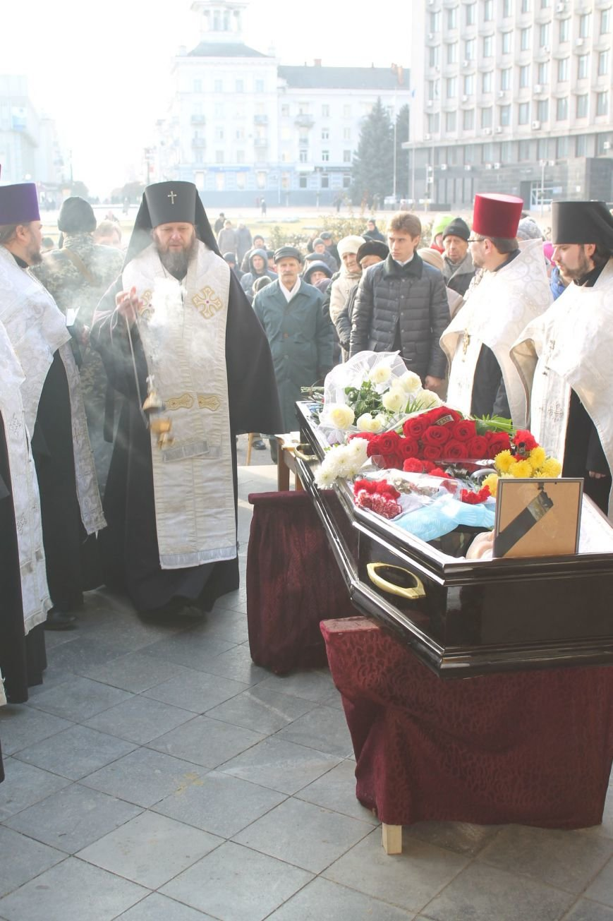 Сумчане попрощались с воином АТО Юрием Ветровым, который погиб в блиндаже (ФОТО), фото-3