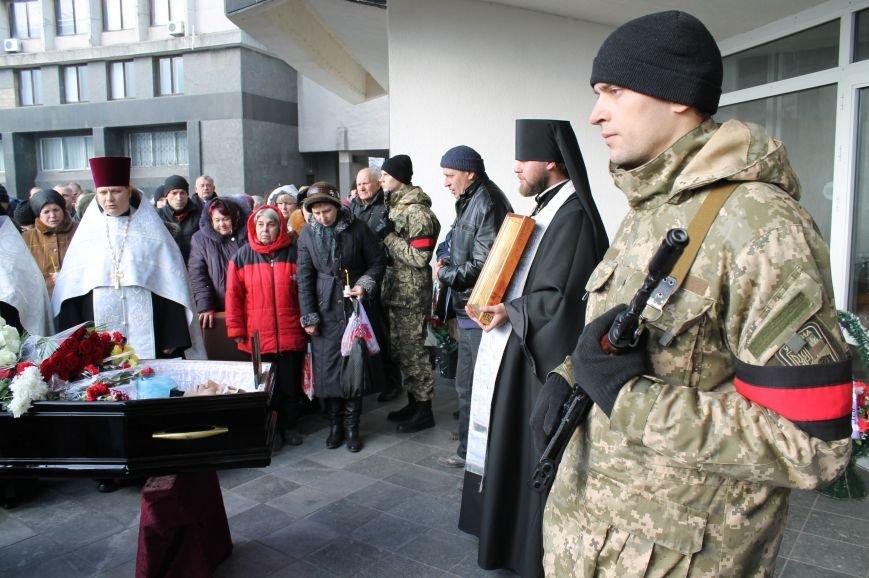 Сумчане попрощались с воином АТО Юрием Ветровым, который погиб в блиндаже (ФОТО), фото-7