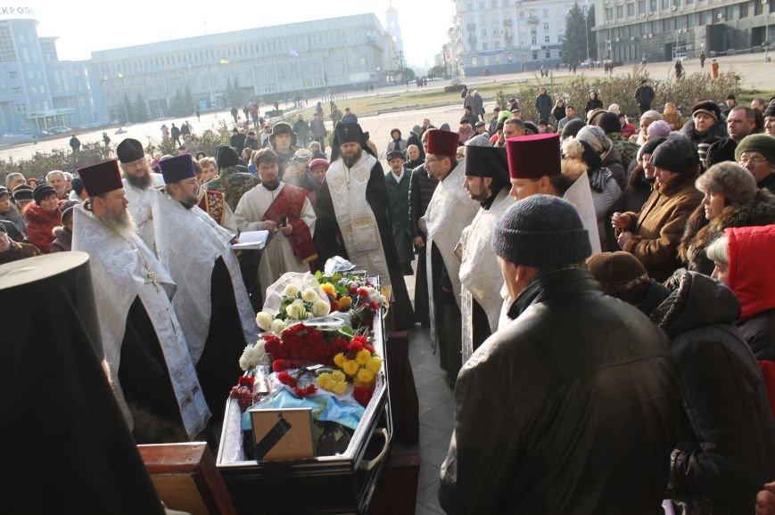 Сумчане попрощались с воином АТО Юрием Ветровым, который погиб в блиндаже (ФОТО), фото-2