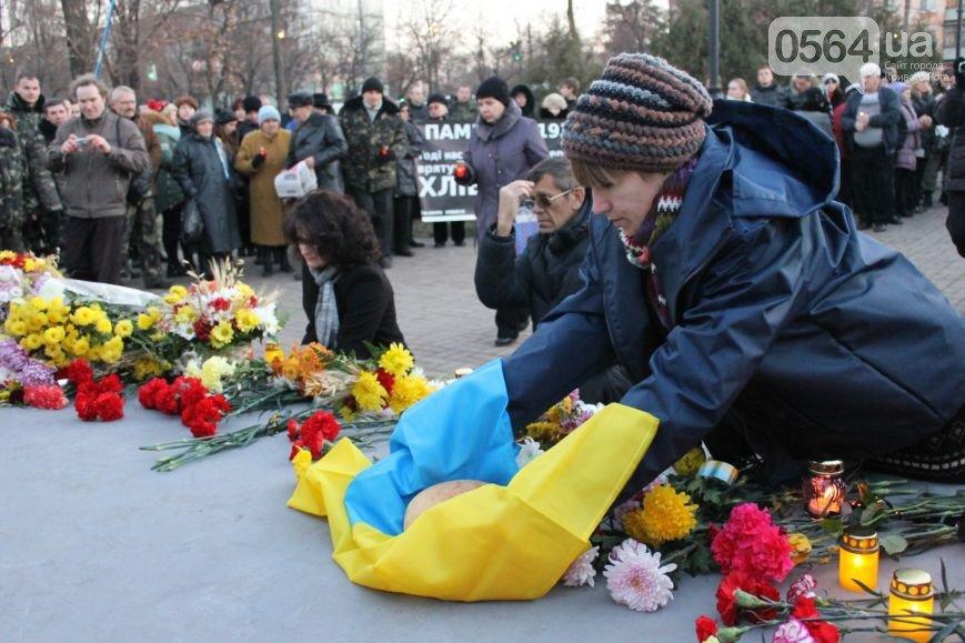 В Кривом Роге: почтили память жертв голодоморов и жертв репрессий, собрались на Евромайдан и ощутили землетрясение, фото-1