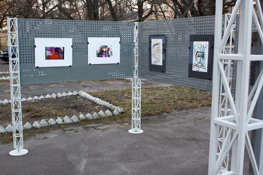 Черниговский фестиваль «Зелена Сцена» презентовал обновленную арт-зону, фото-3