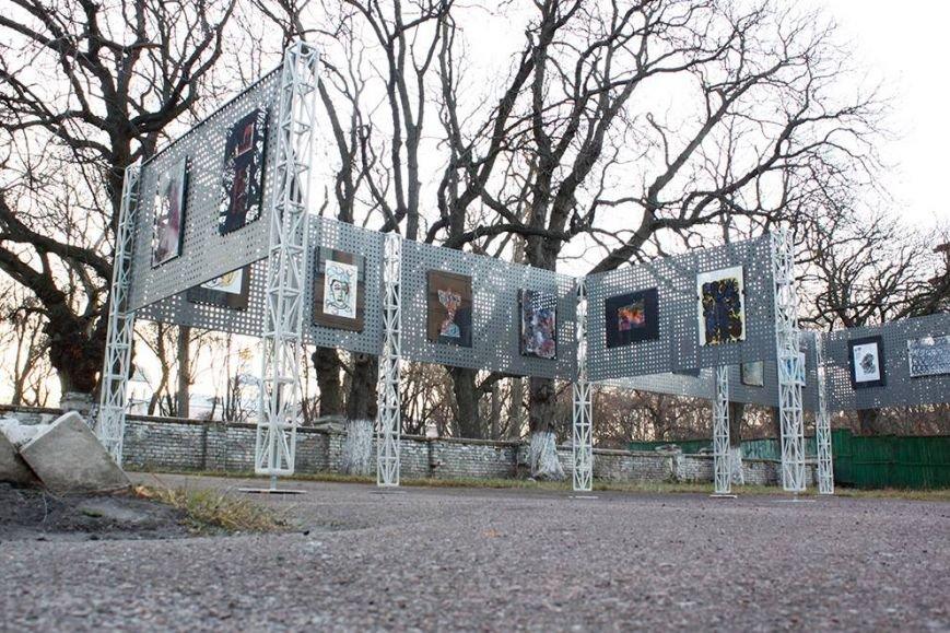 Черниговский фестиваль «Зелена Сцена» презентовал обновленную арт-зону, фото-2