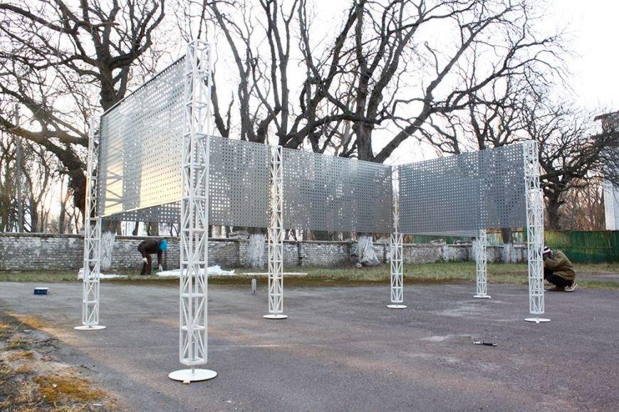 Черниговский фестиваль «Зелена Сцена» презентовал обновленную арт-зону, фото-1