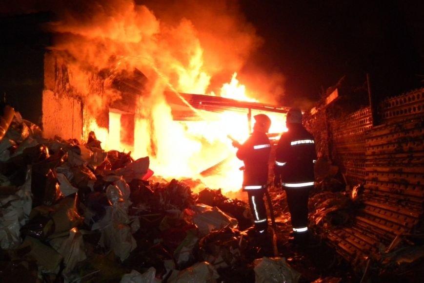 В Чернигове сгорела столярная мастерская на Шерстянке, фото-3