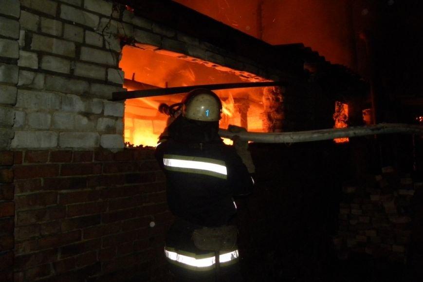 В Чернигове сгорела столярная мастерская на Шерстянке, фото-1