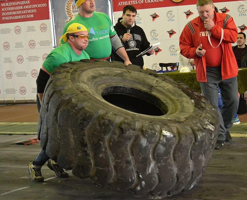 В Запорожье на суперфинале богатыри таскали железо и автомобильные колеса (ФОТО), фото-6