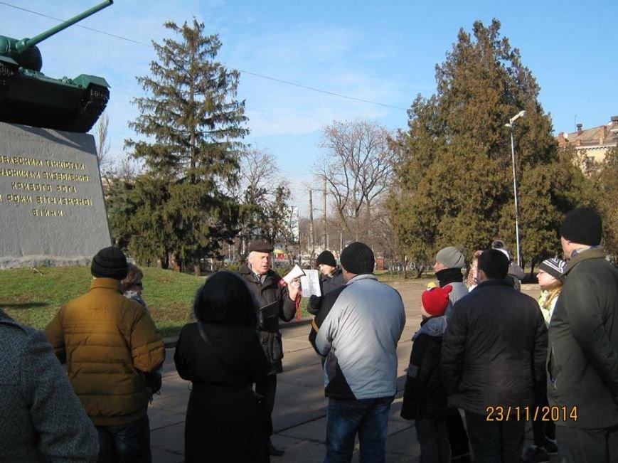 Криворожанам рассказали, почему на месте памятника Ленину поставлен крест, фото-6