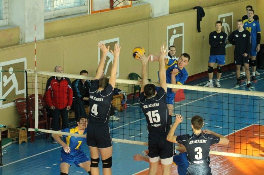 Черниговские студенты с харьковскими юристами обменялись победами, фото-4