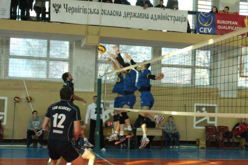 Черниговские студенты с харьковскими юристами обменялись победами, фото-2