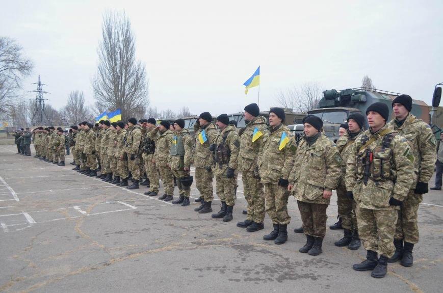 Бойцы запорожского спецподразделения «Сармат» отправились в зону АТО (ФОТО), фото-4