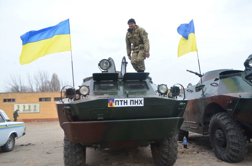 Бойцы запорожского спецподразделения «Сармат» отправились в зону АТО (ФОТО), фото-8