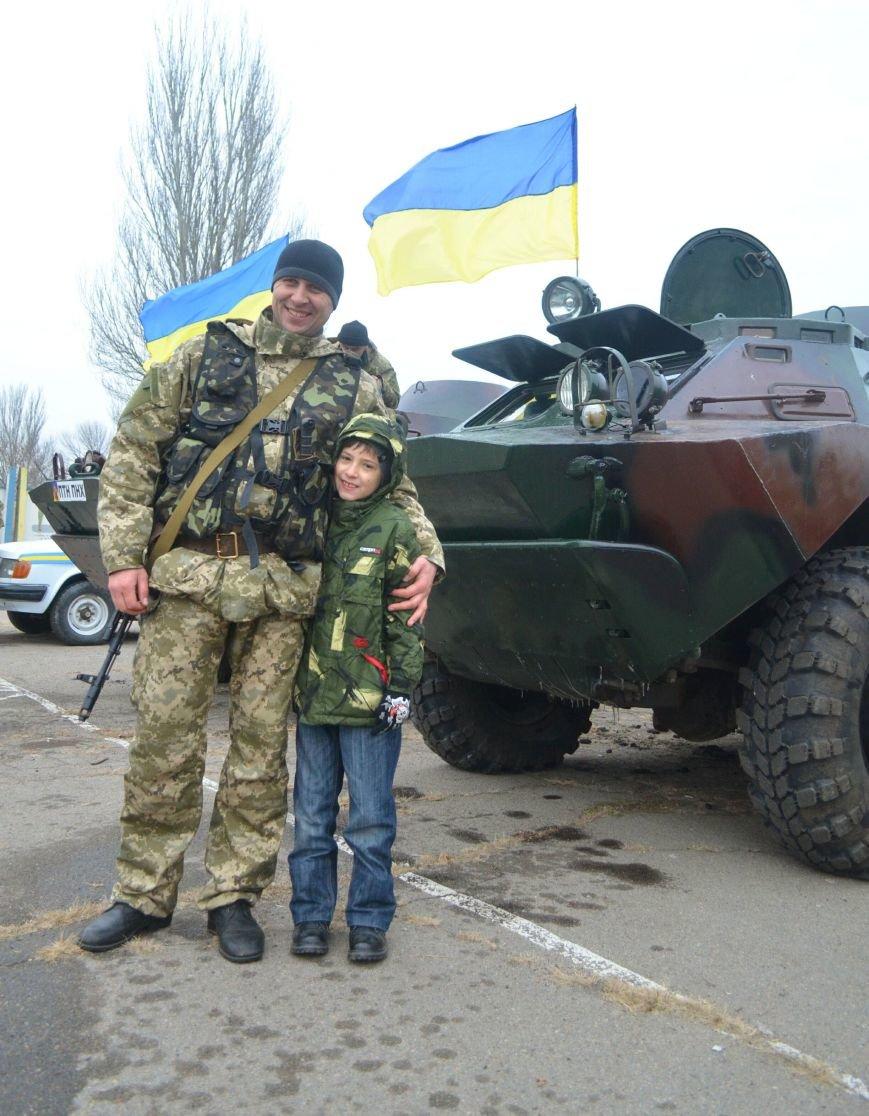 Бойцы запорожского спецподразделения «Сармат» отправились в зону АТО (ФОТО), фото-7