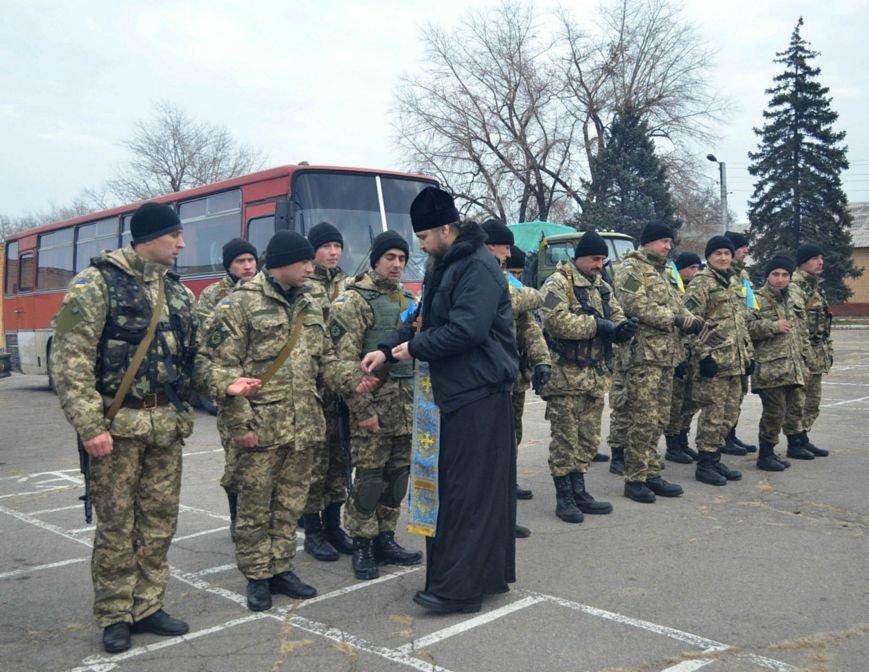 Бойцы запорожского спецподразделения «Сармат» отправились в зону АТО (ФОТО), фото-1