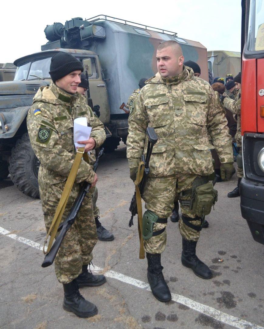 Бойцы запорожского спецподразделения «Сармат» отправились в зону АТО (ФОТО), фото-10
