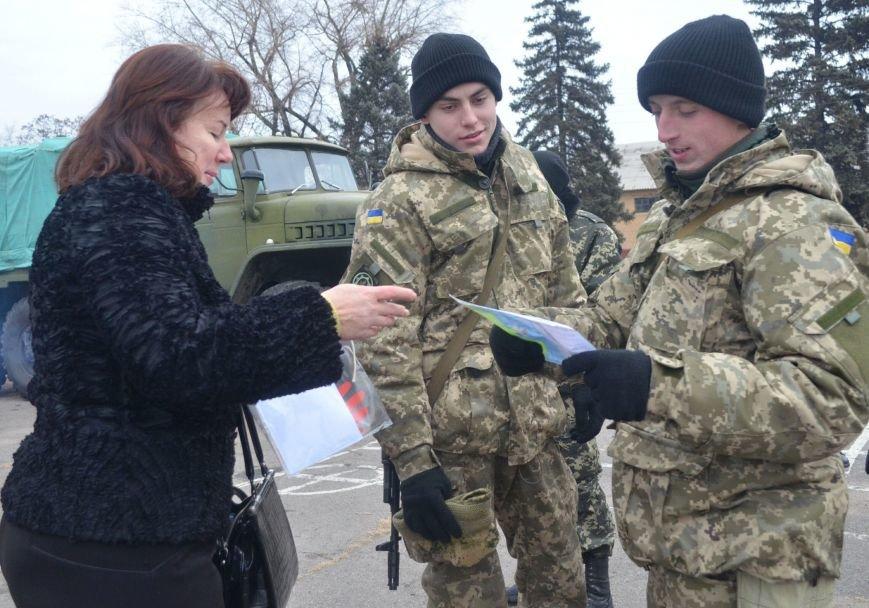 Бойцы запорожского спецподразделения «Сармат» отправились в зону АТО (ФОТО), фото-9