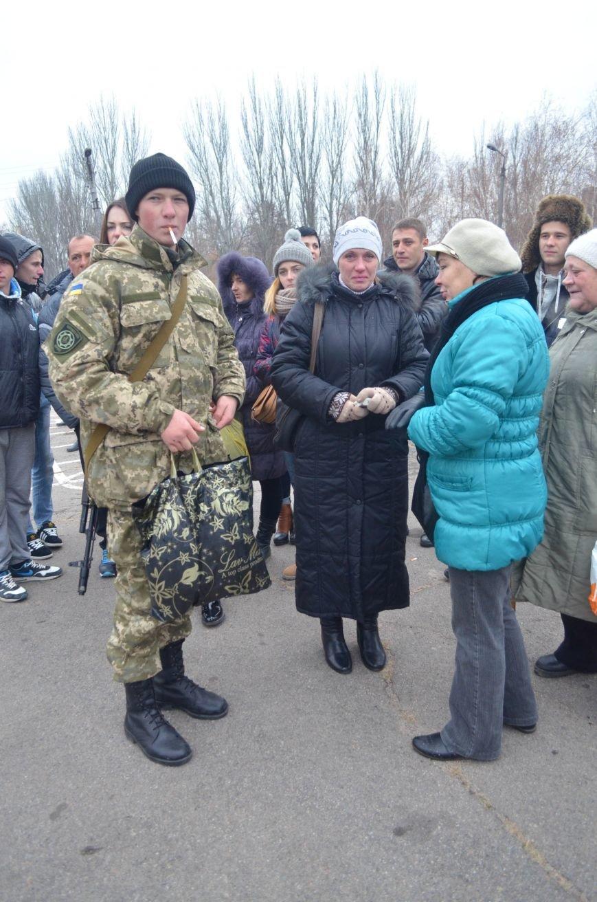 Бойцы запорожского спецподразделения «Сармат» отправились в зону АТО (ФОТО), фото-5