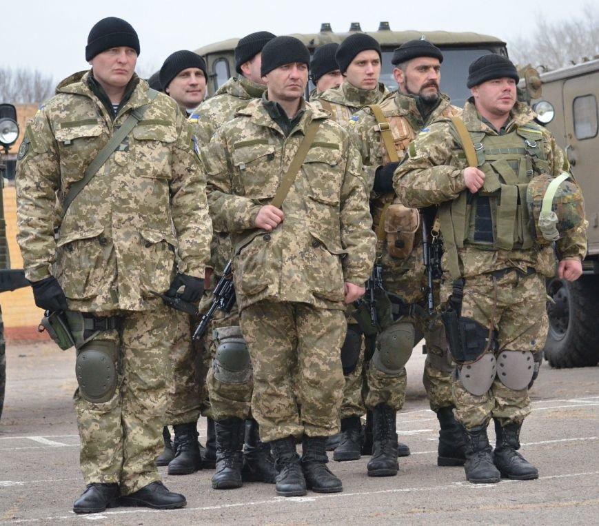 Бойцы запорожского спецподразделения «Сармат» отправились в зону АТО (ФОТО), фото-2