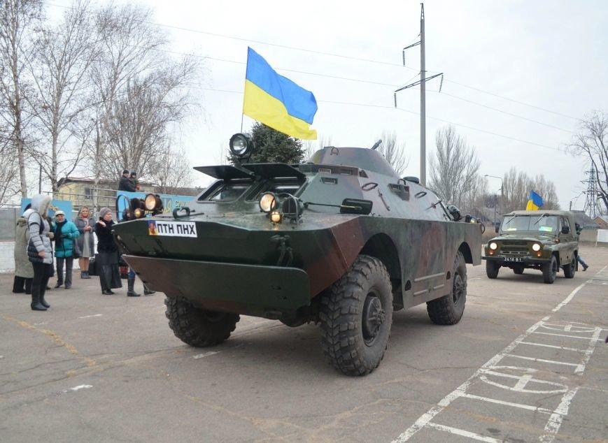 Бойцы запорожского спецподразделения «Сармат» отправились в зону АТО (ФОТО), фото-11