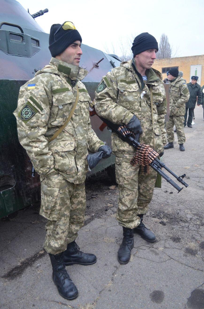 Бойцы запорожского спецподразделения «Сармат» отправились в зону АТО (ФОТО), фото-6