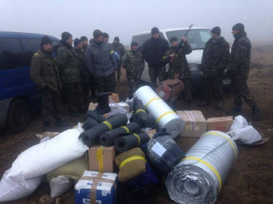Тернопільські автомайданівці потрапили під обстріл в зоні АТО (фото), фото-1