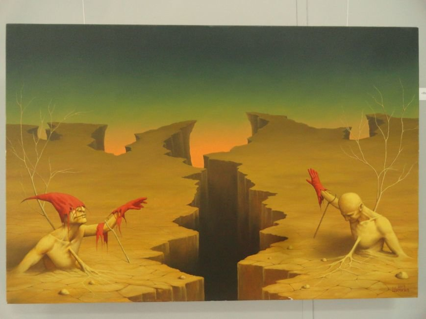 Лига вольных художников предложила мариупольцам «Другое искусство» (ФОТОРЕПОРТАЖ), фото-7