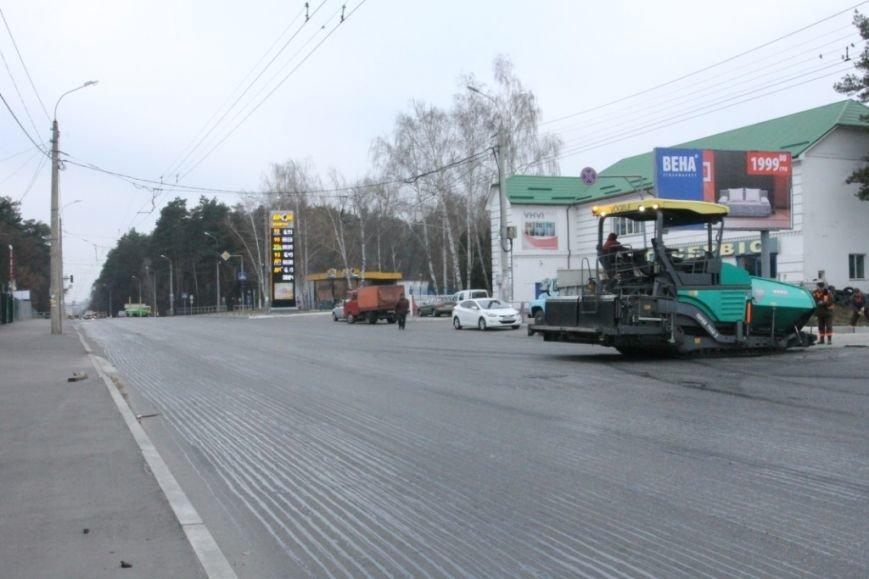 В Чернигове принялись доделывать дорогу возле «ВЕНЫ», фото-12
