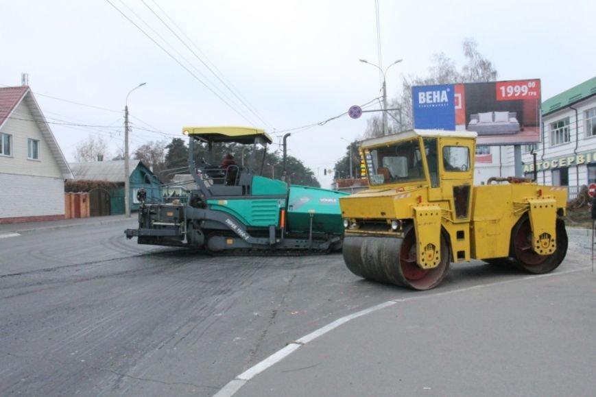 В Чернигове принялись доделывать дорогу возле «ВЕНЫ», фото-5